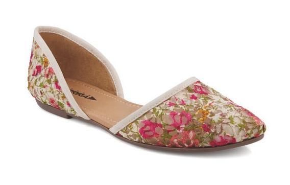 Zapatos Valerina Dama Casual Multicolor Mundo Terra 008093