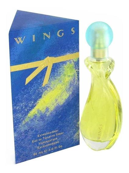 Pergume Wings Feminino Edt 90ml Original