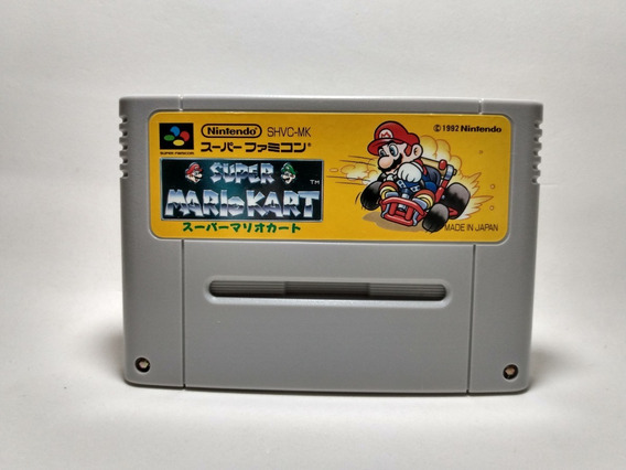 Mario Kart - Super Famicom Nintendo Original Japonesa