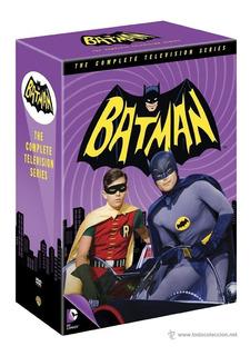 Batman Serie Completa 1966 Combo De Coleccion (3 Temporadas)