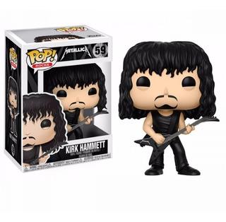 Funko Pop Metallica Kirk Hammett 59 Nuevo Original En Stock