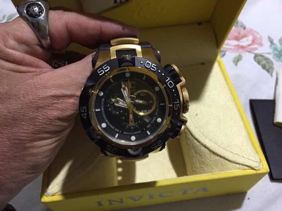 Relógio Suíço Invicta Subaqua 500mt Calibre 5050e Original