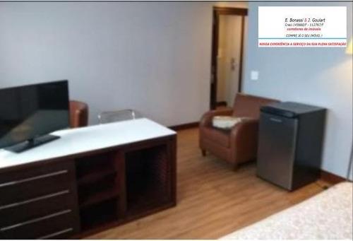 Imagem 1 de 7 de Flat Para Aluguel Temporada Ou Mensal Cidade Monções - 500
