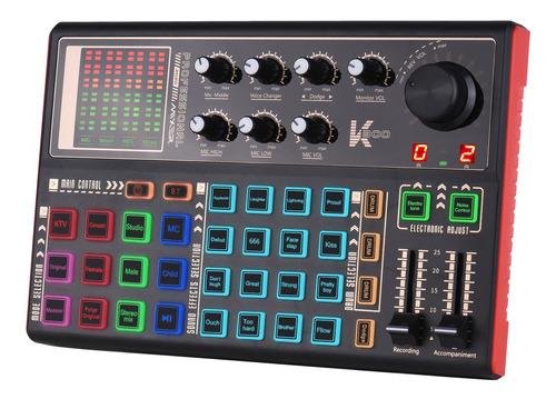 Muslady Sk300 Live Sonido Tarjeta De Sonido Externo Cambiado