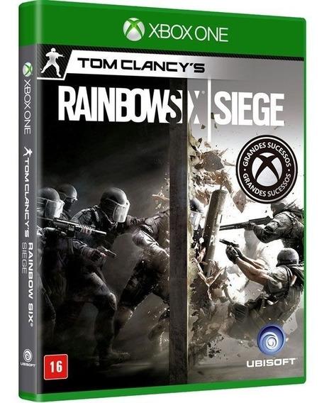 Jogo Rainbow Six Siege - Xbox One, Disco Novo, Lacrado