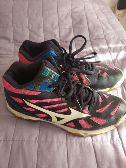Zapatillas Mizuno Wave Hurricane Originales Usa Talle 7.5