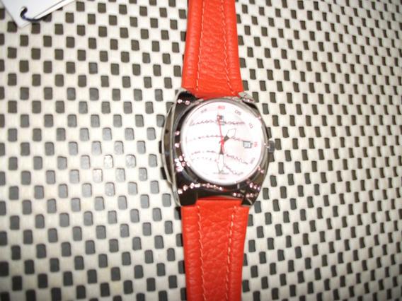 Relógio Pulso Feminino Fila Com Pedrinhas Brilhantes Novo