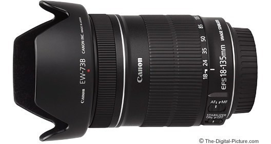 Lente Canon 18-135 Mm Nova 3 Vezes De Uso
