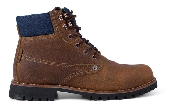 Bota Levis Masculina Work Boots Jackson Marrom
