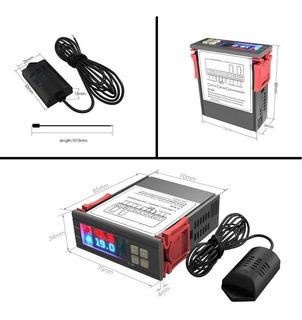 Control Temperatura Y Humedad Incubadora Higrómetro 110v