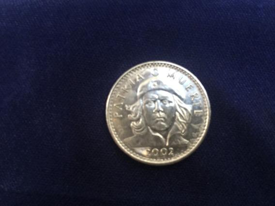 Tres Pesos Moneda Cubana Del Che Guevara