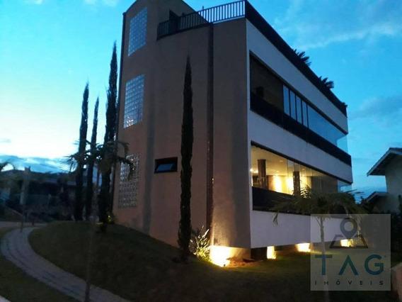 Mansão Para Venda No Condomínio Atibaia Park | - Sp. - Ca0212