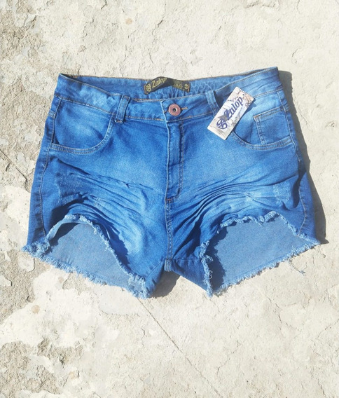 Shorts Jeans Plus Size Lycra Hot Pants 46 Ao 54