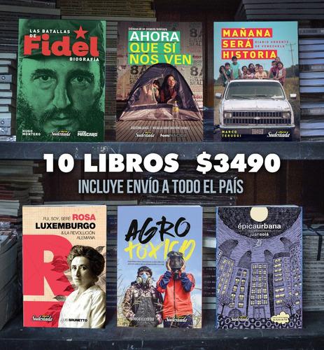 Promo 10 Libros Cuadernos De Sudestada