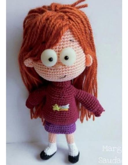 Patrón Mabel Gravity Falls Amigurumi Crochet