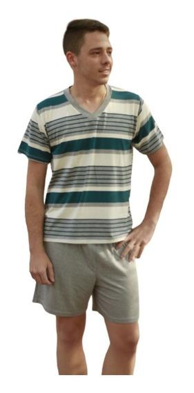 Pijama Masculino Curto Roupa De Dormir Para Homem Le Moncy