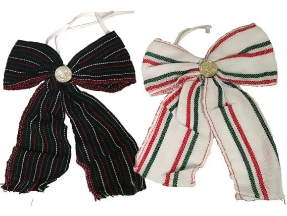 Moño Corbatin Tricolor Fiestas Mexicana 16septiembre Mundial