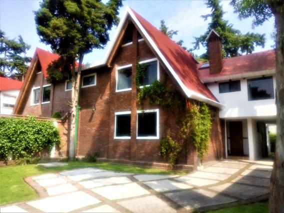 Renta Casa En Fracc. Resid. A 40 Min. De Santa Fe, Cdmex.