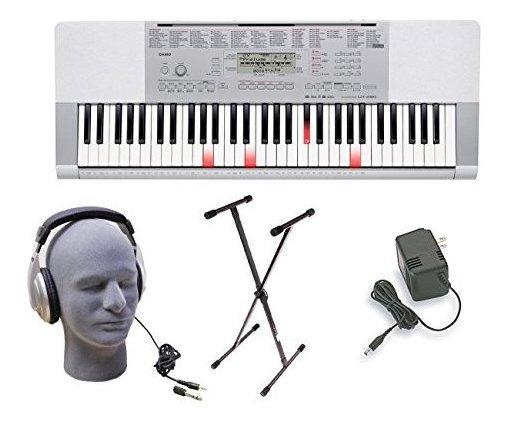 Casio Lk280 Key Key Premium Keyboard Pack Con Auriculares, F