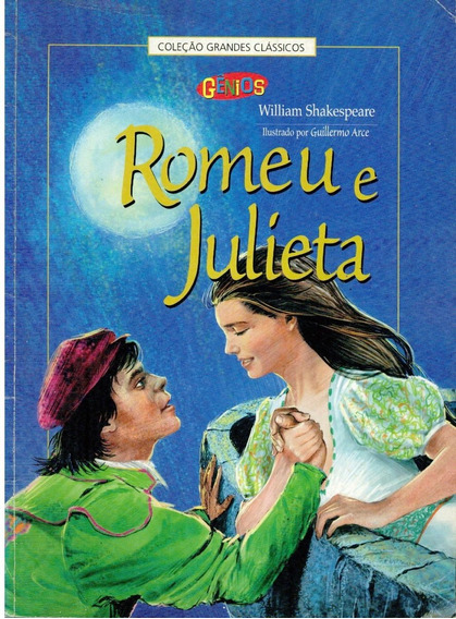Livro Romeu E Julieta - William Shakespeare - 46 Paginas