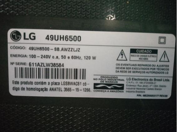 Placa Principaltv Lg49 4k Modelo Uh6500