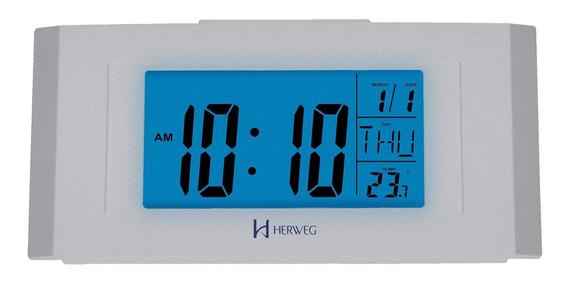 Despertador Digital Herweg 2978 070 - Refinado