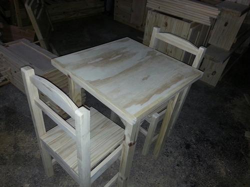 Mesa Con 2 Sillas