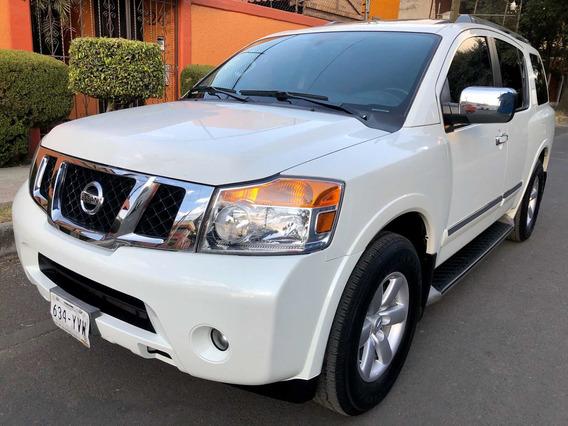 Nissan Armada 5.6 Advance Piel Qc 7 Pasajeros Bose