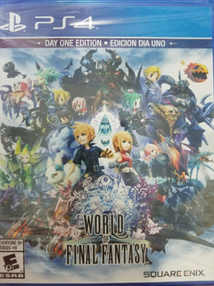 World Of Final Fantasy Day One Edition Ps4 Delivery Stock Ya