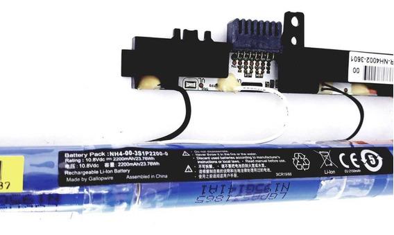 Bateria Para Notebook Nh4-00-3s1p2200-0 10.8v Na-1403