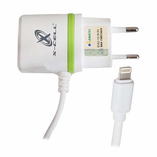 Carregador Para iPhone Ultra Rapido Saida Usb E Cabo