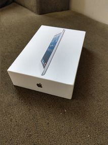 Caixa Vazia iPad Mini 2 16 Gb Wifi Prata Com Manual