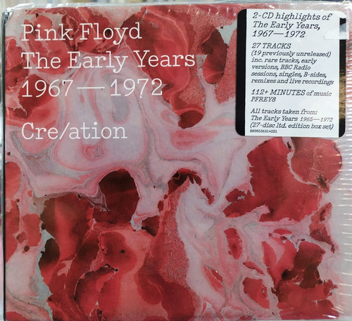 Pink Floyd - The Early Years. 1967-1972. Cre/ation. 2cds