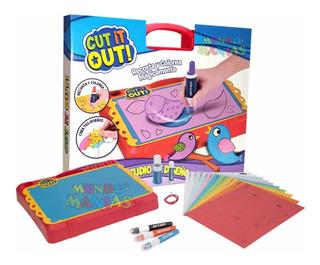 Cut It Out! Estudio Diseño Recorta Colorea Intek Mundomanias