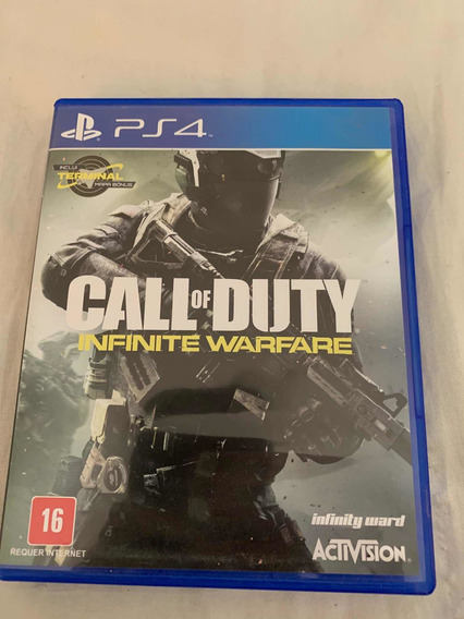 Call Of Duty Infinite Warfare Mídia Física Ps4