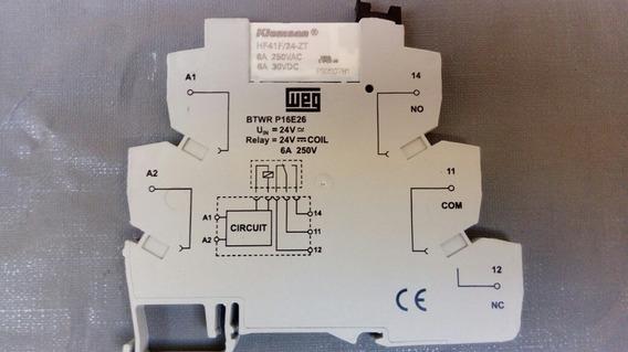 Rele De Interface Weg 24v Caixa Com 10 Unidades