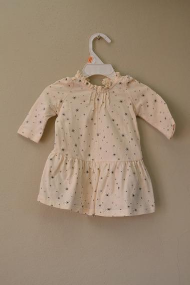 Vestido C/bombacha-baby Gap - Talle 0-3 Meses(nuevo S/etiq.)
