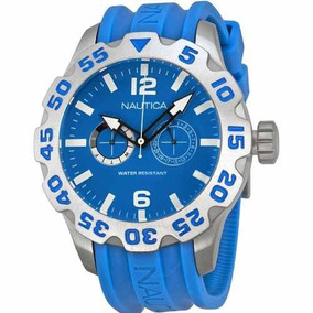 Relogio Masculino Nautica A16607g Azul Cronógrafo Oferta