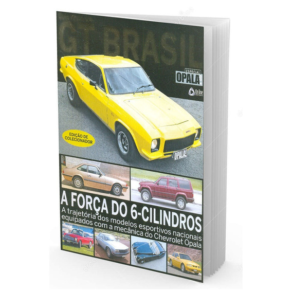 Guia Histórico Gt Brasil Edição De Colecionador Opala & Cia
