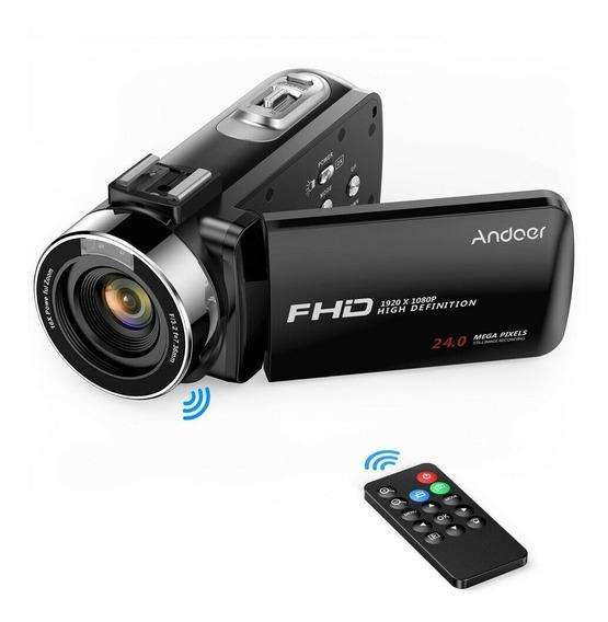 Câmera Filmadora Digital Semi Profissional Com Microfone