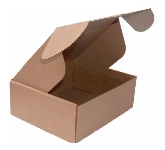 Caixa Papelão Correio Sedex Pac 20x16x7 Montável - 25 Cxs