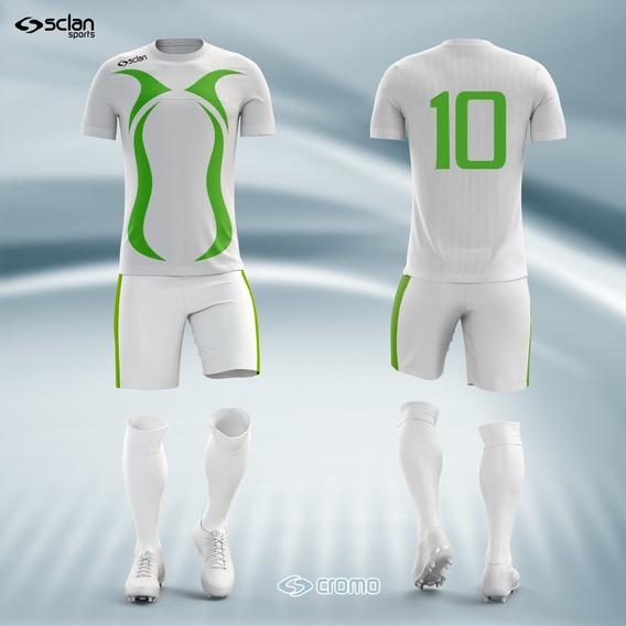 Fardamento Personalizado Time De Futebol Dry Fit - Cod. 003