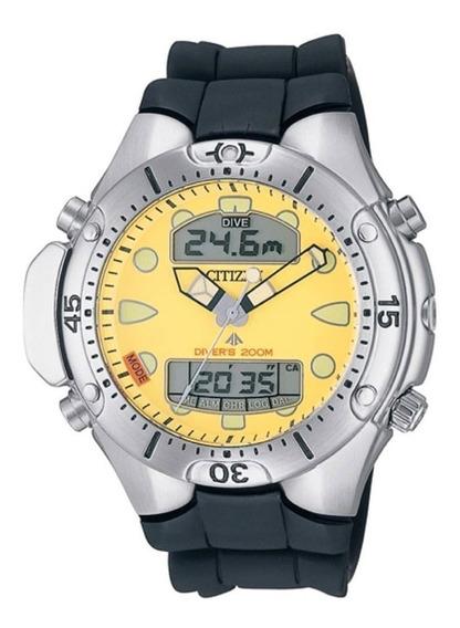 Relógio Citizen Jp-1060-01x Aqualand Original