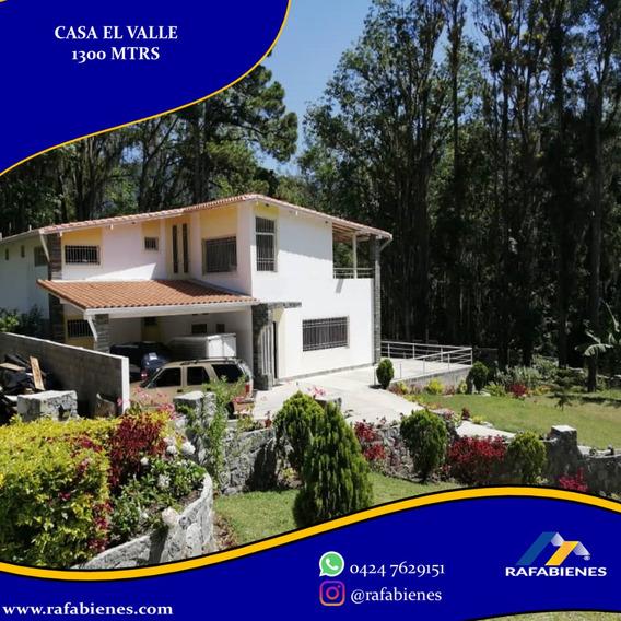 Casa Quinta En El Valle El Remanzo Merida, Venezuela