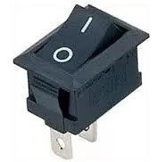 04 Pçs Mini Chave Gangorra Kcd11-101 3a 250v Liga Desliga