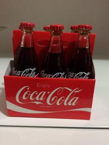 Caixinha Com 6 Miniaturas Coca Cola Pronta Entrega
