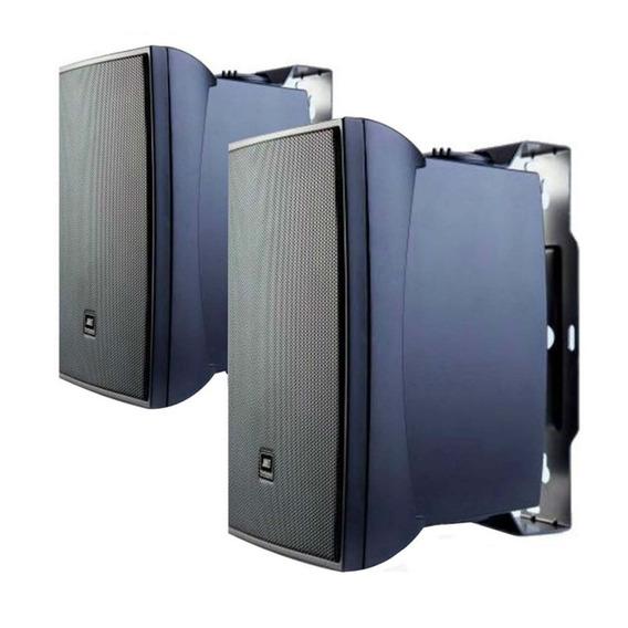 4 Caixa Som Ambiente C521p 40w Rms Preta Jbl Selenium Top