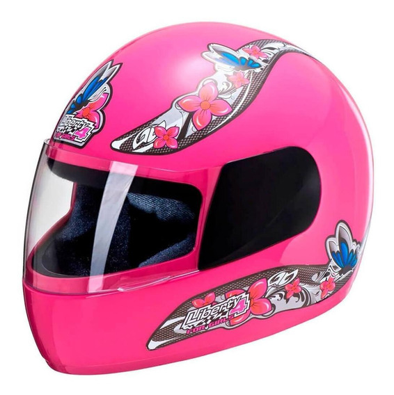 Capacete Pro Tork Liberty Four For Girls 58 Rosa
