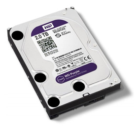 Hd 2tb Purple 2 Tera Western Intelbras Wd Cftv Dvr Wd20purz