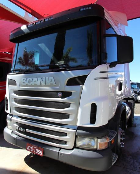 Scania G420 - 2010/10 - 6x4 I Único Dono (atg 1055)